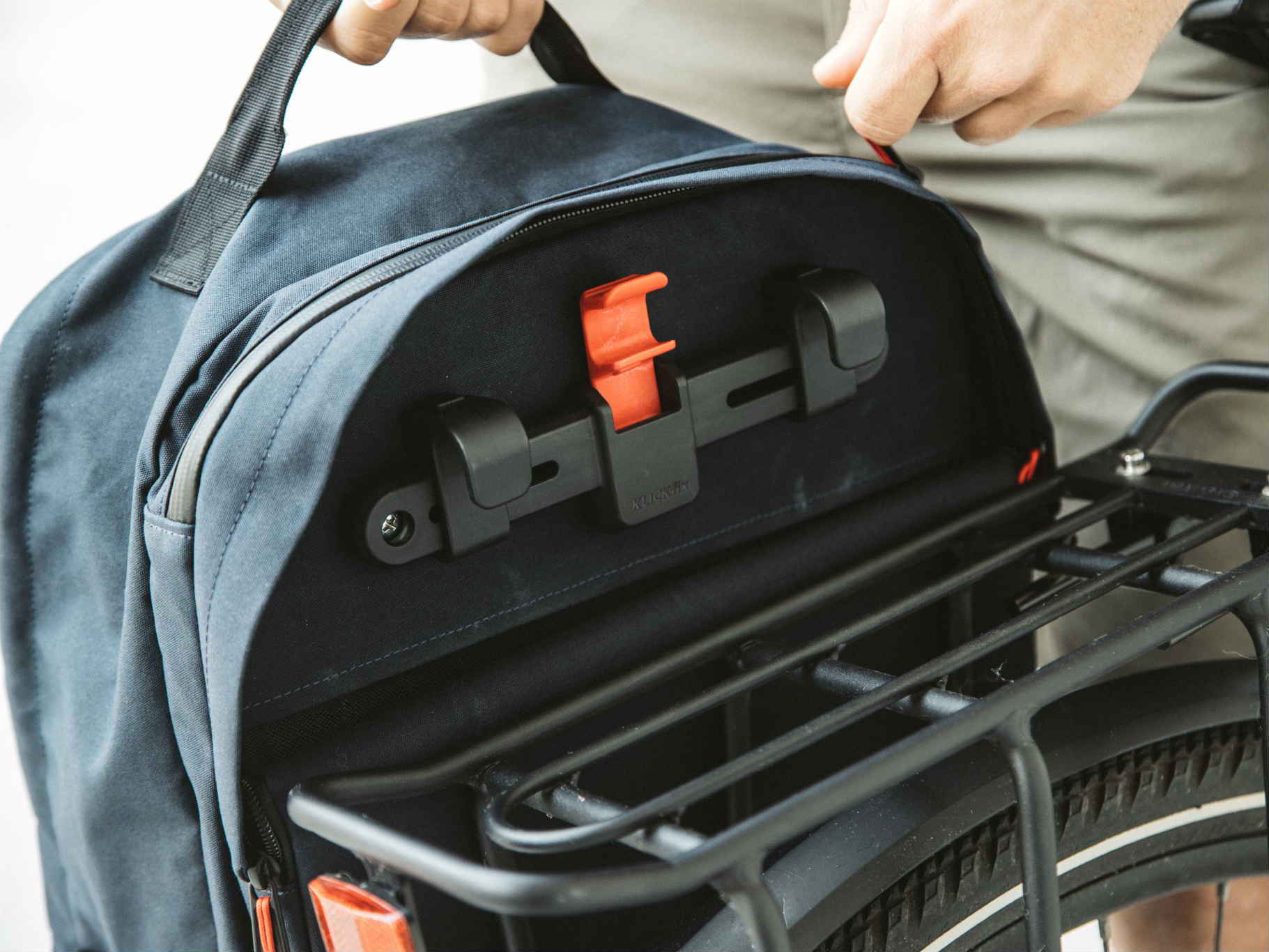 Two Wheel Gear - Pannier Backpack Convertible - Kompakt Rail Mounting System