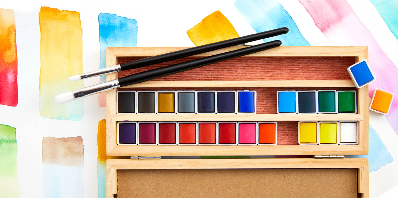 Handmade Modern Watercolor Set