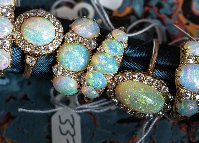 Kaleidoscopic Opals