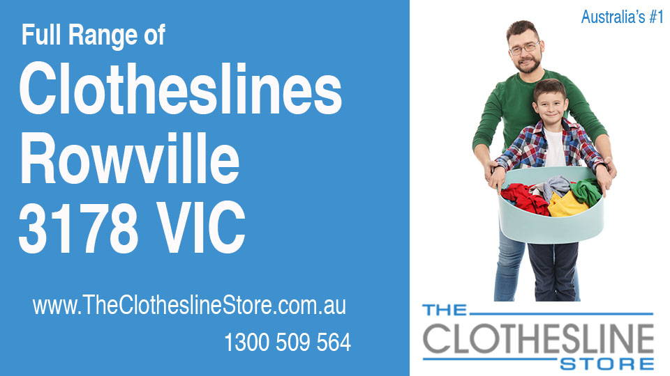 New Clotheslines in Rowville Victoria 3178