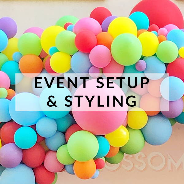 We offer event styling and party decor setup services in Brighton, Sussex and beyond to help you create the most show stopping celebration