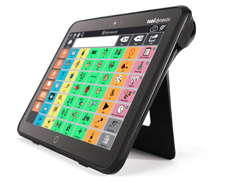Tobii Dynavox I-110 ASK-enhet med Snap + Core First kommunikasjonsprogramvare