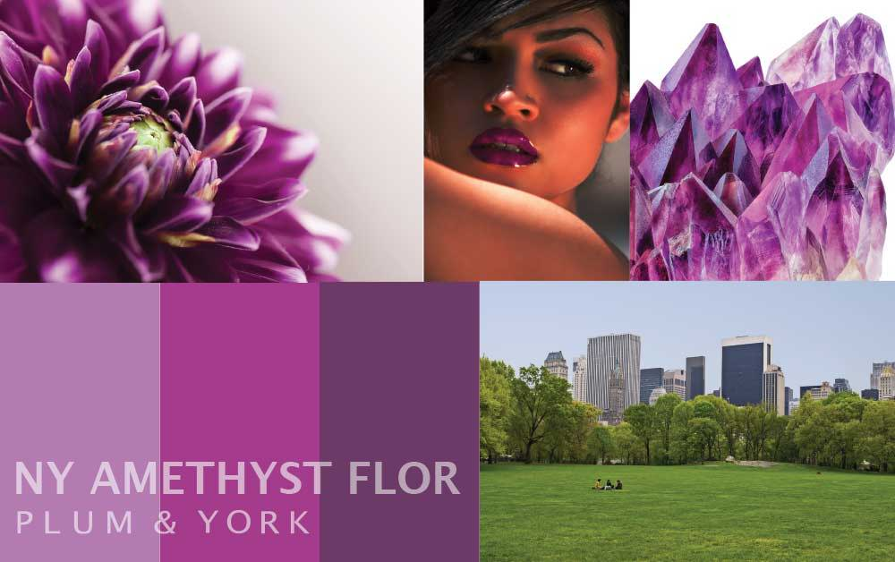 NY Amethyst Flor lipstick by Plum & York
