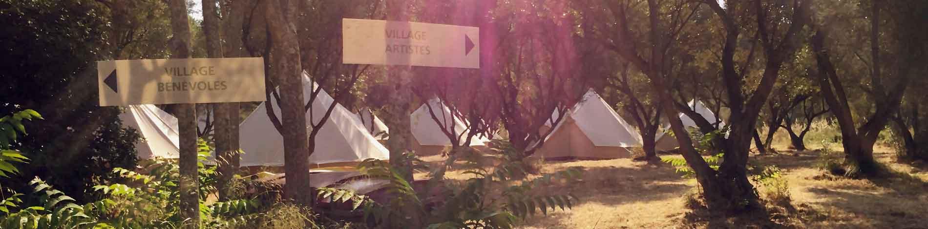 location de tentes pour festival