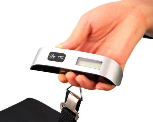 MIOMU Báscula Digital para Equipaje