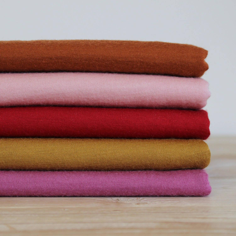 Merino fabric stack- The Fabric Store Online