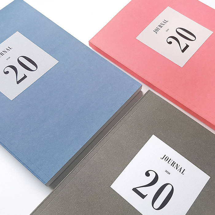 3 colors - O-CHECK 2020 Simple and basic A5 dated weekly planner