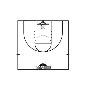 Basketball Court Templates From Hoopsking Hoopsking Com Instructional Basketball Company