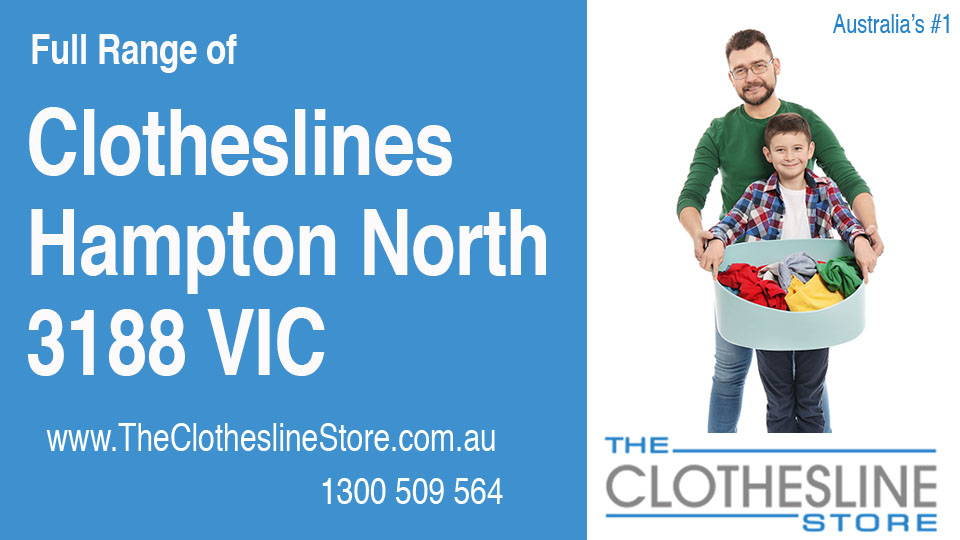 New Clotheslines in Hampton North Victoria 3188
