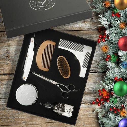 Holiday Beard Grooming Kit