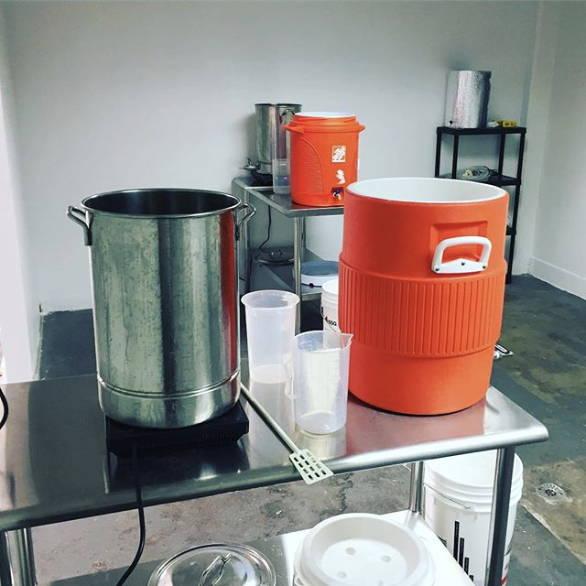5 gallon all grain beer brewing equipment