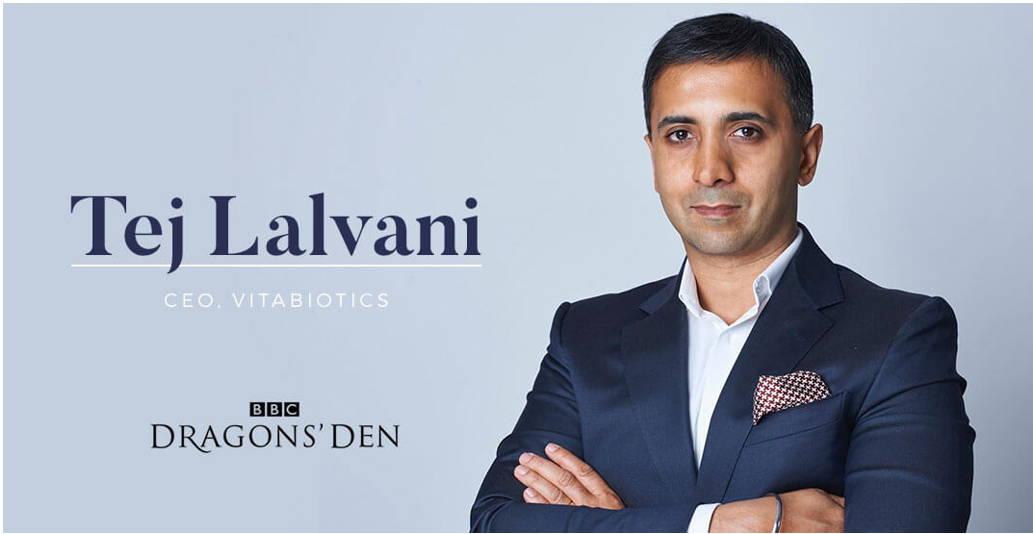 Banner Of Dragons' Den Tej Lalvani