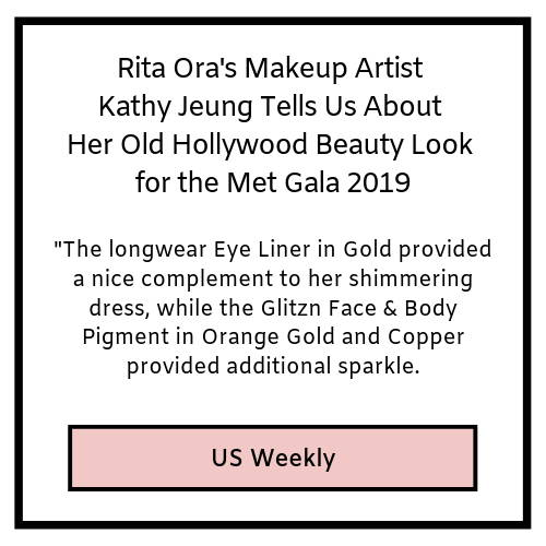 rita ora's makeup artist kathy jeung tells us about her old hollywood beauty look for the met gala 2019- us weekly