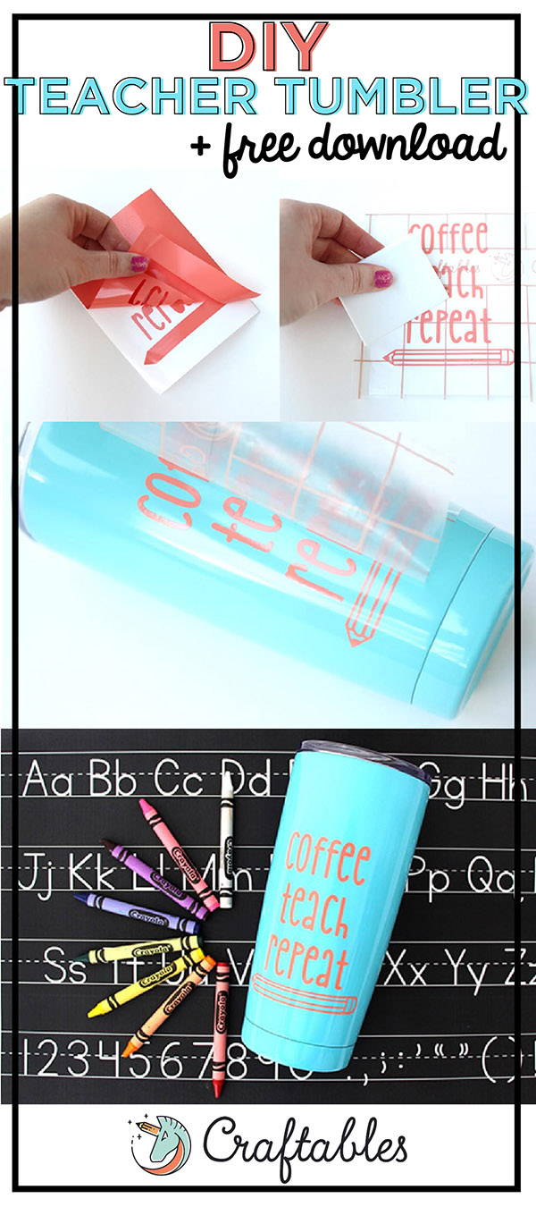 DIY Tutorial: How to Decorate a Tumbler | Craftables