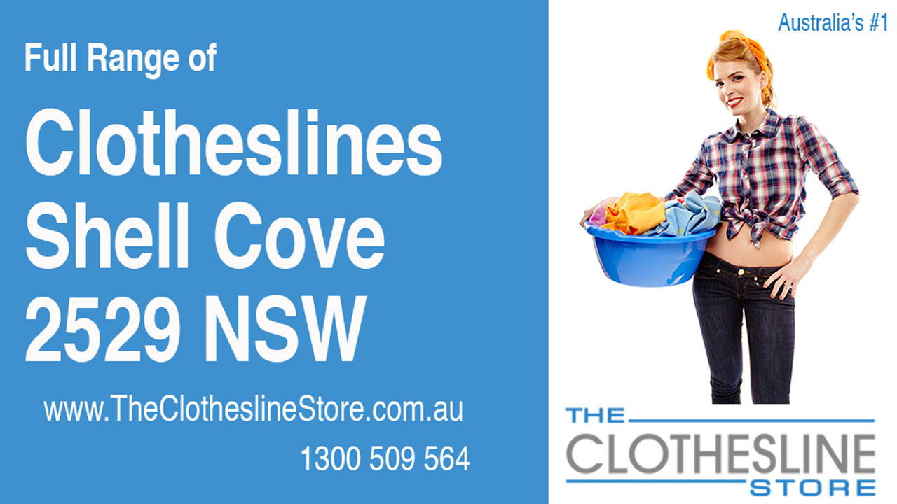 New Clotheslines in Shell Cove 2529 NSW