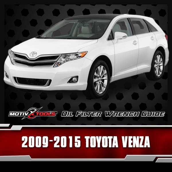 2009 - 2015 Toyota Venza Oil Filter Wrench Guide