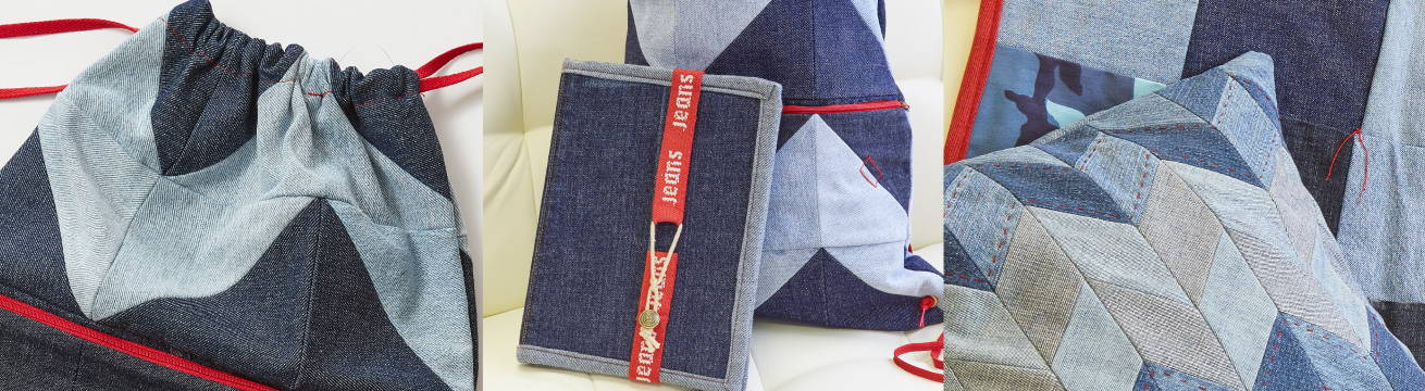 UPCYCLING WITH DENIM