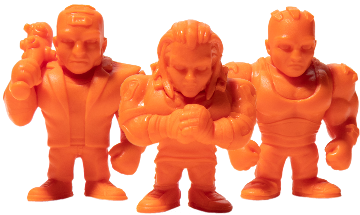 Product image of the Cyberpunk 2077 Monos Animals Set in orange