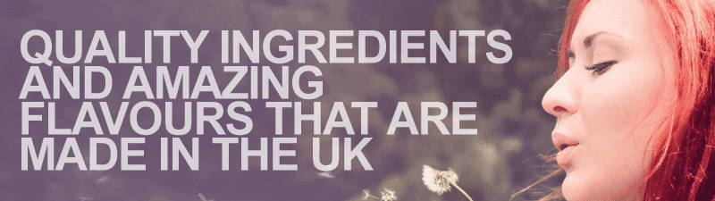 Highest quality ingredients and amazing flavours in our e-liquids