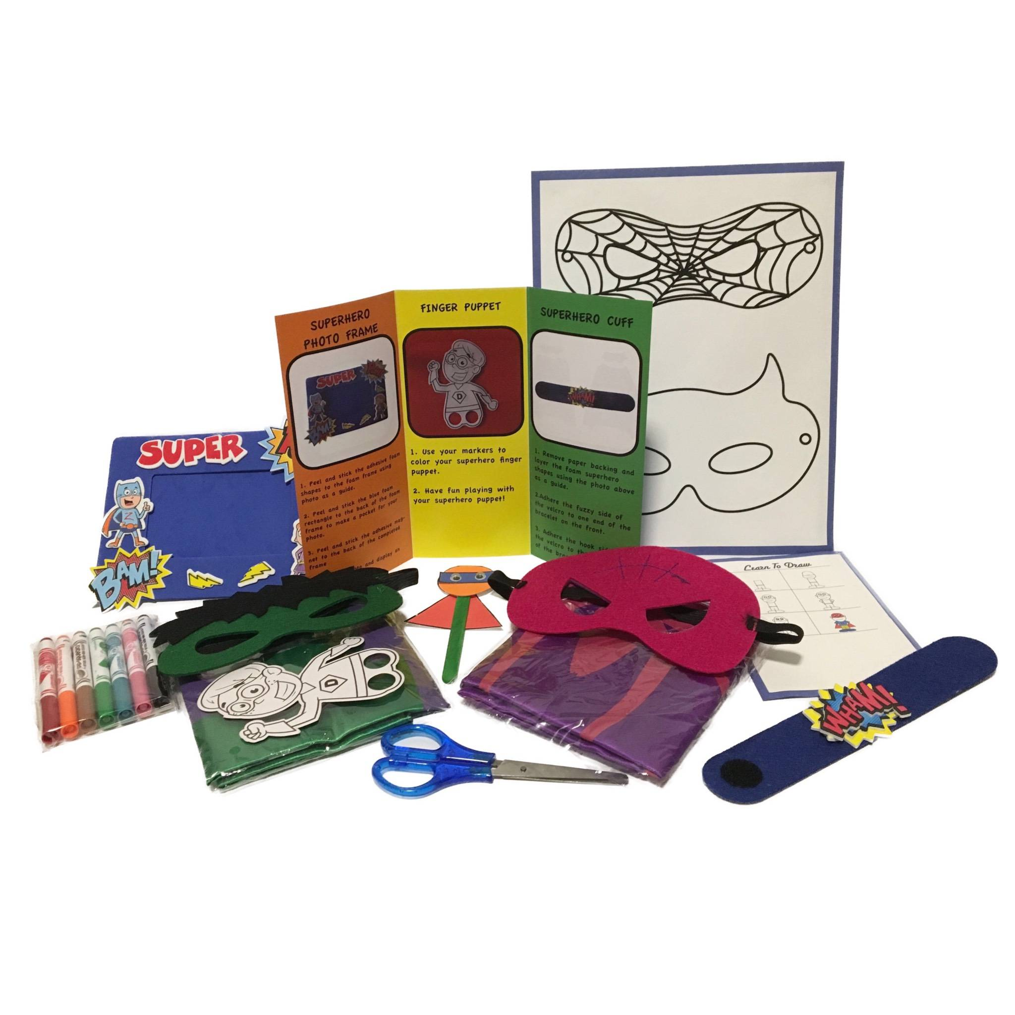 SUPERHERO Children's craft subscription Canada