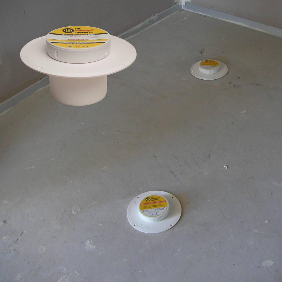 Wondercap retro kit used for bathroom renovation