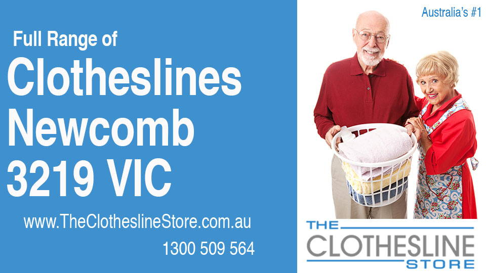 New Clotheslines in Newcomb Victoria 3219