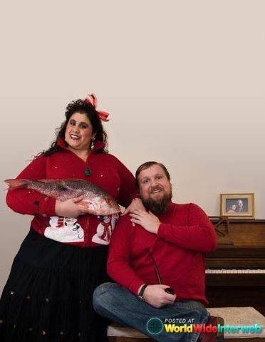 Fish Christmas Card
