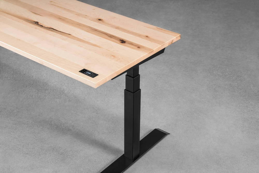 Sway Desk Maple