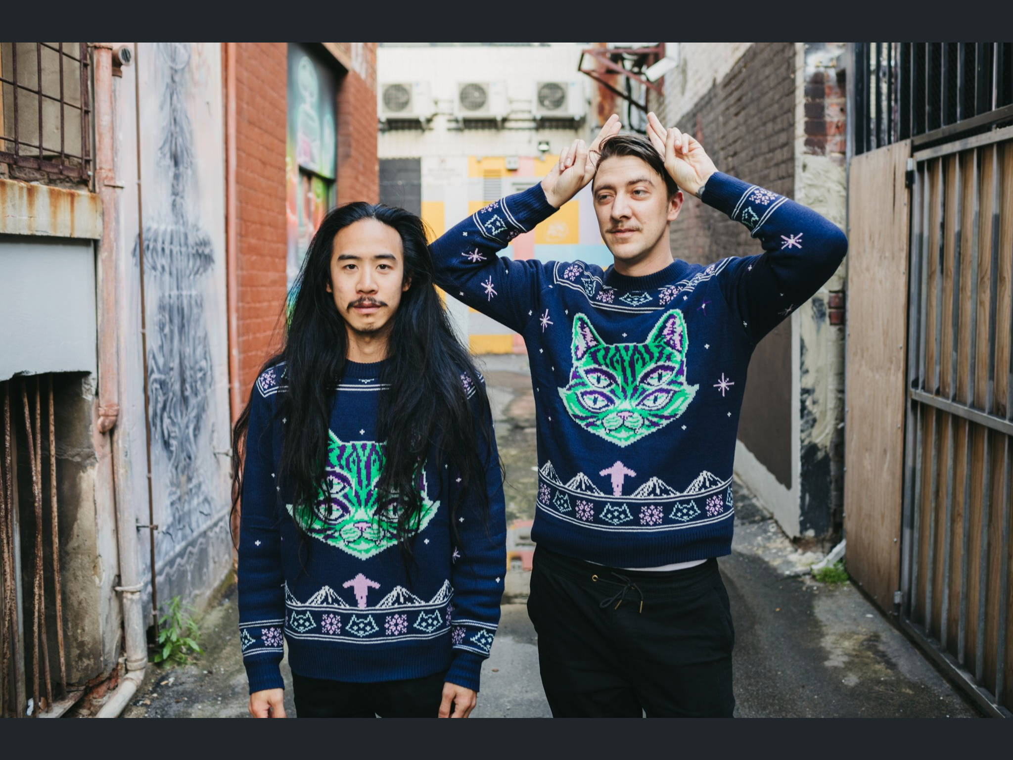 Jarrad Seng Custom Christmas Sweaters