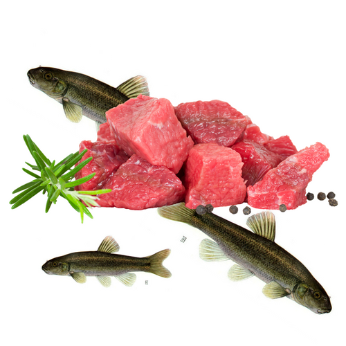 Pet Chef fresh beef livers and lake minnows