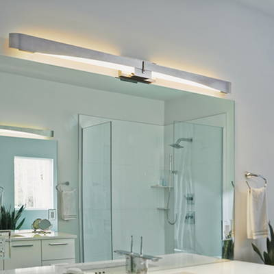 Hubbardton Forge Bath and vanity
