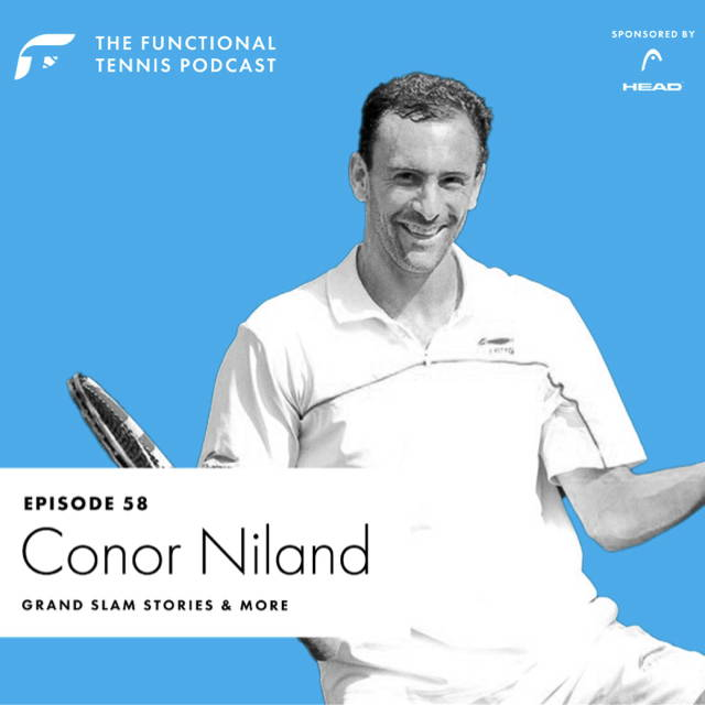 Conor Niland on the Functional Tennis Podcast