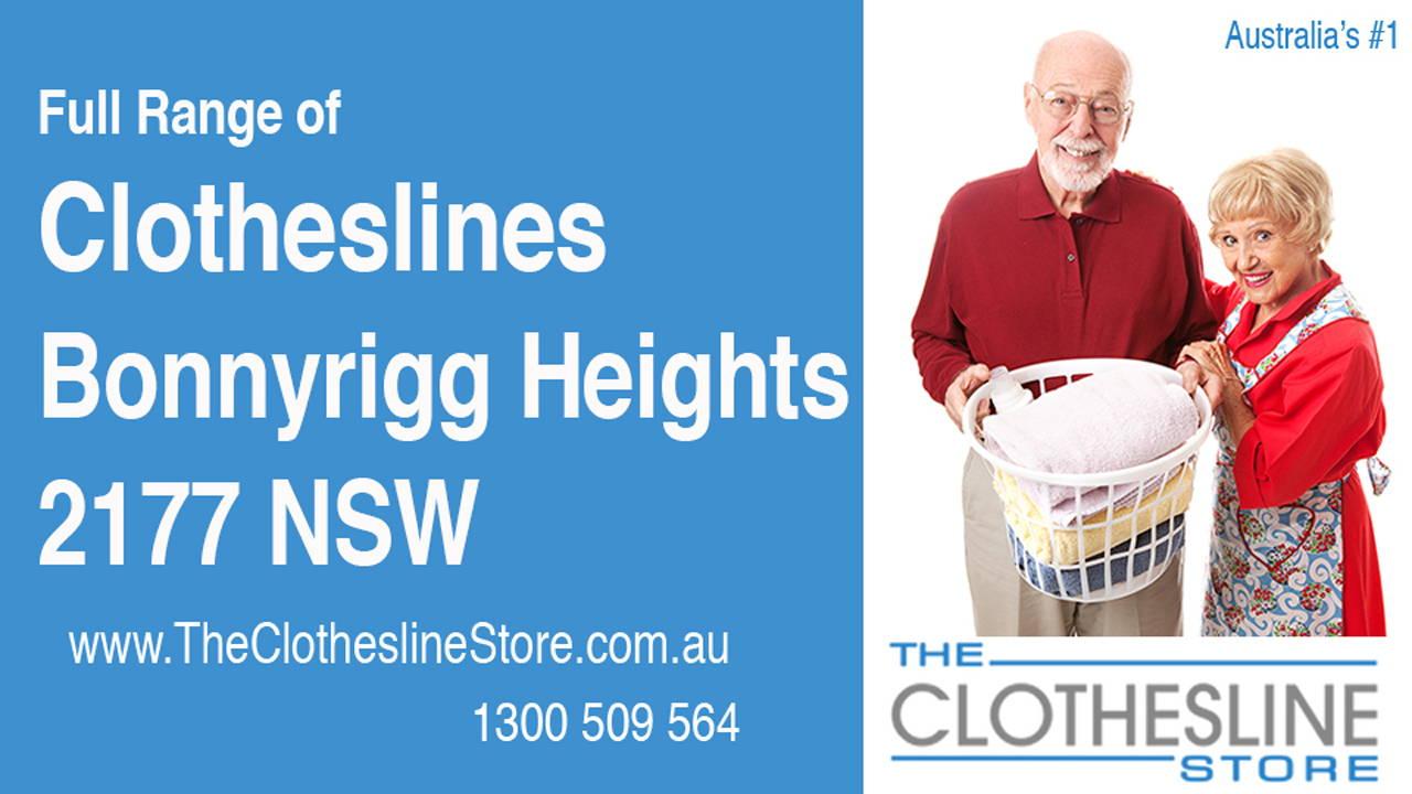 Clotheslines Bonnyrigg Heights 2177 NSW