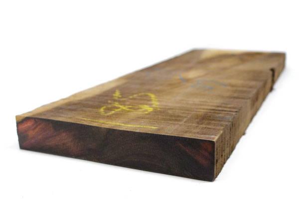 katalox (mexican ebony) board with cut end