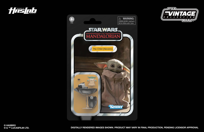 Baby Yoda in package.