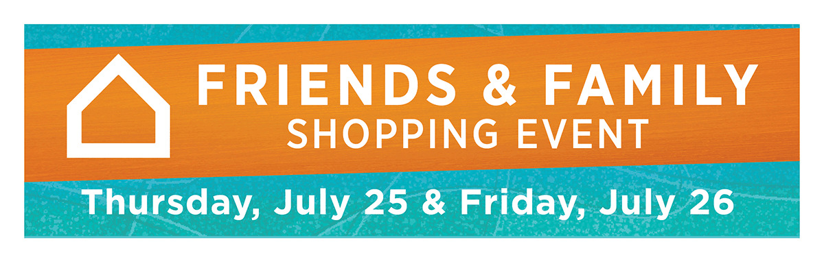 Friends and Family Event - Ashley HomeStore - Canada