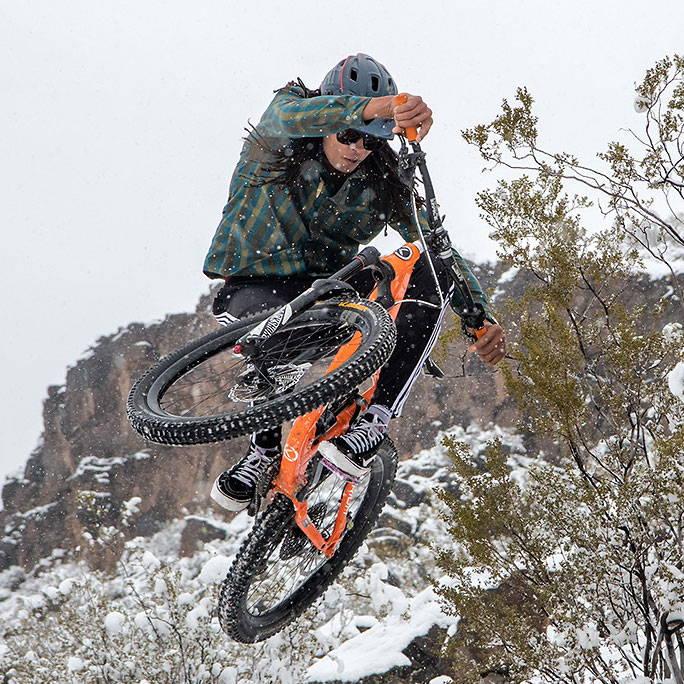 Sanchez Hubbard Mountain Bike Ambassdador