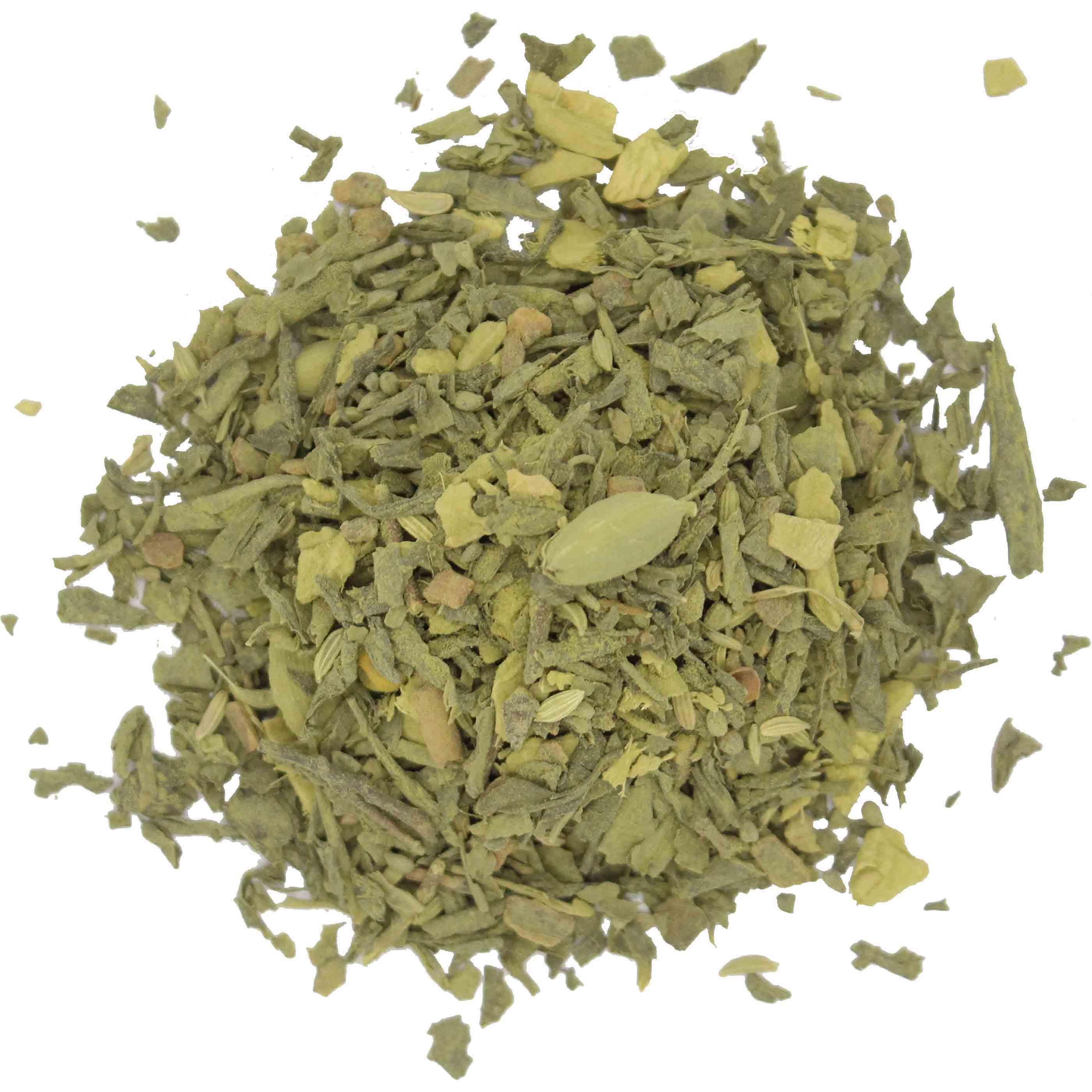Bio Grüner Matcha Tee Haufen