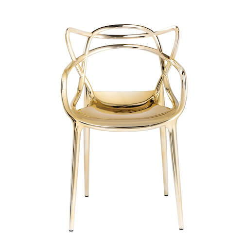 Kartell Masters Chair Precious Metals