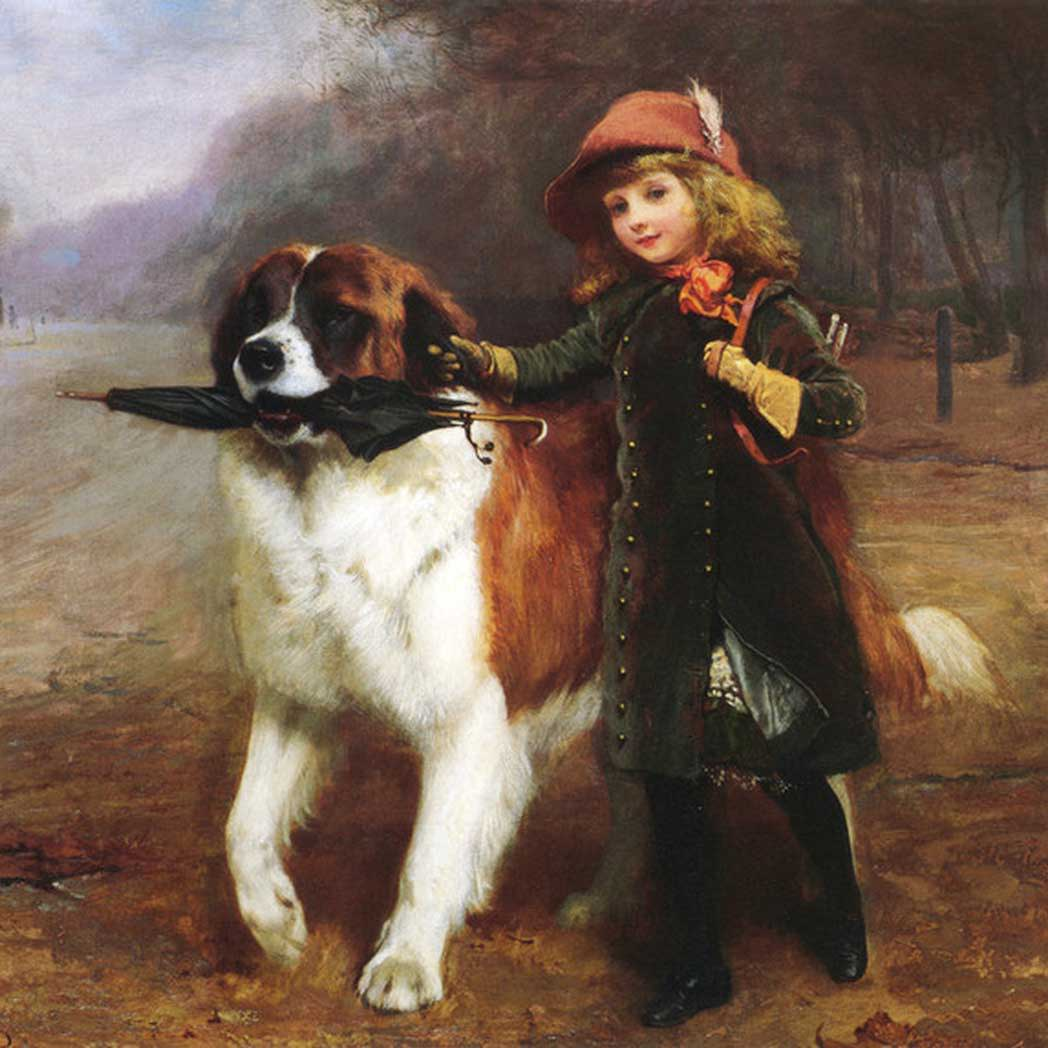 Charles Burton Barber Art
