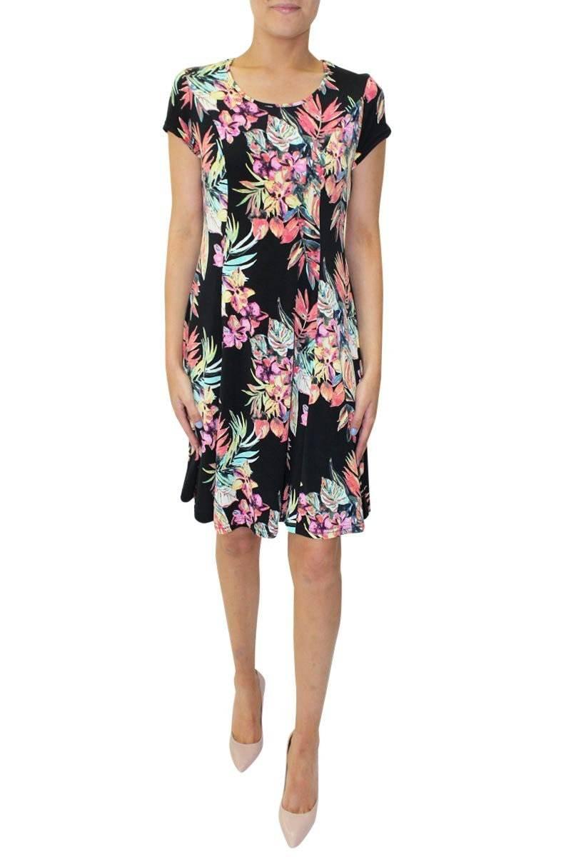Skater Floral Dress | Lauren T