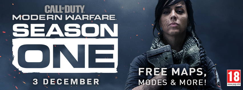 CALL OF DUTY: MODERN WARFARE SEASON ONE LIVE NOW WITH NEW BATTLE PASS AND BIGGEST FREE CONTENT DROP IN CALL OF DUTY HISTORY