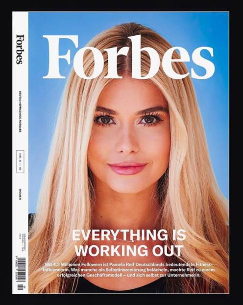 Pamela Reif's on Forbes | SPORTLES.com