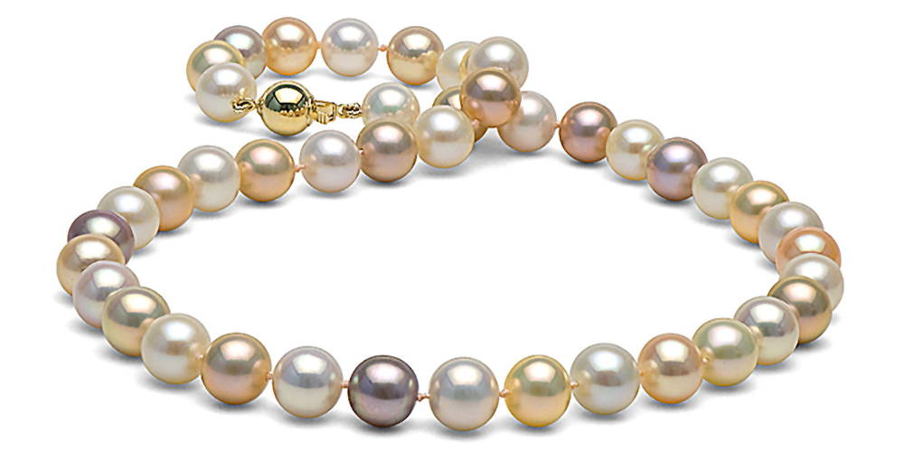 Pearl Colors: Multi-Color Freshwater Pearls
