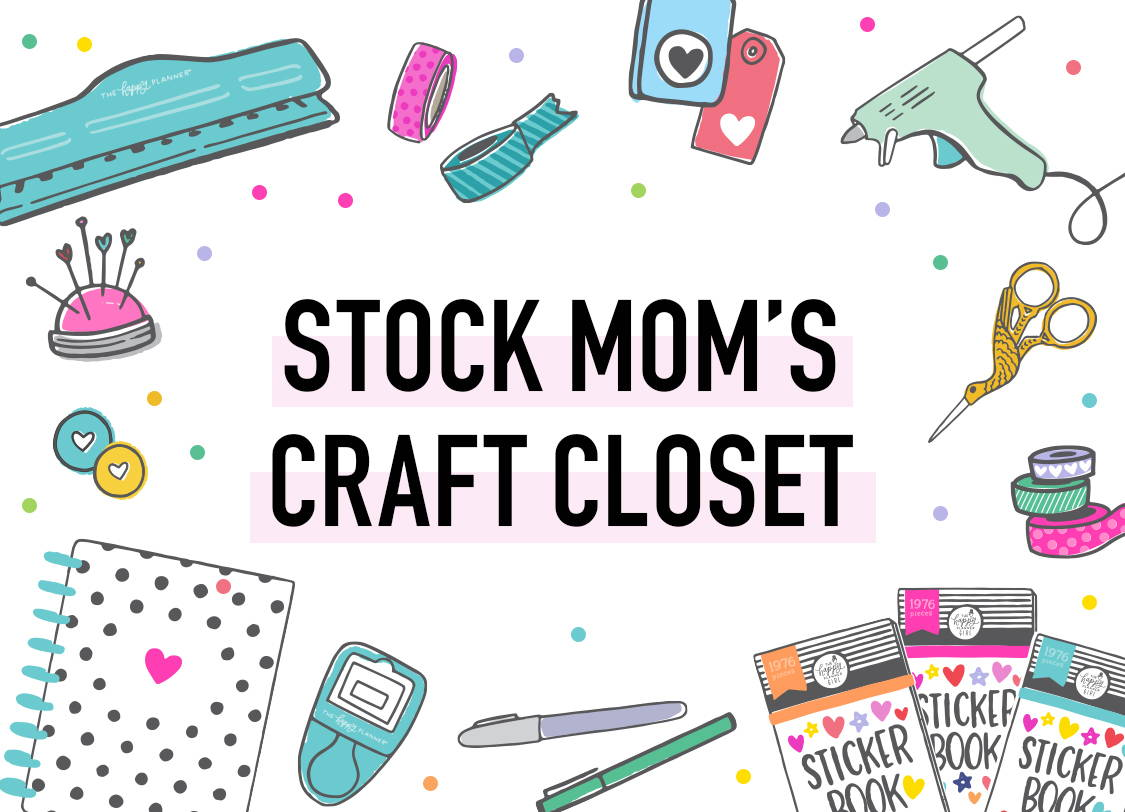 Stock Mom's Craft Closet