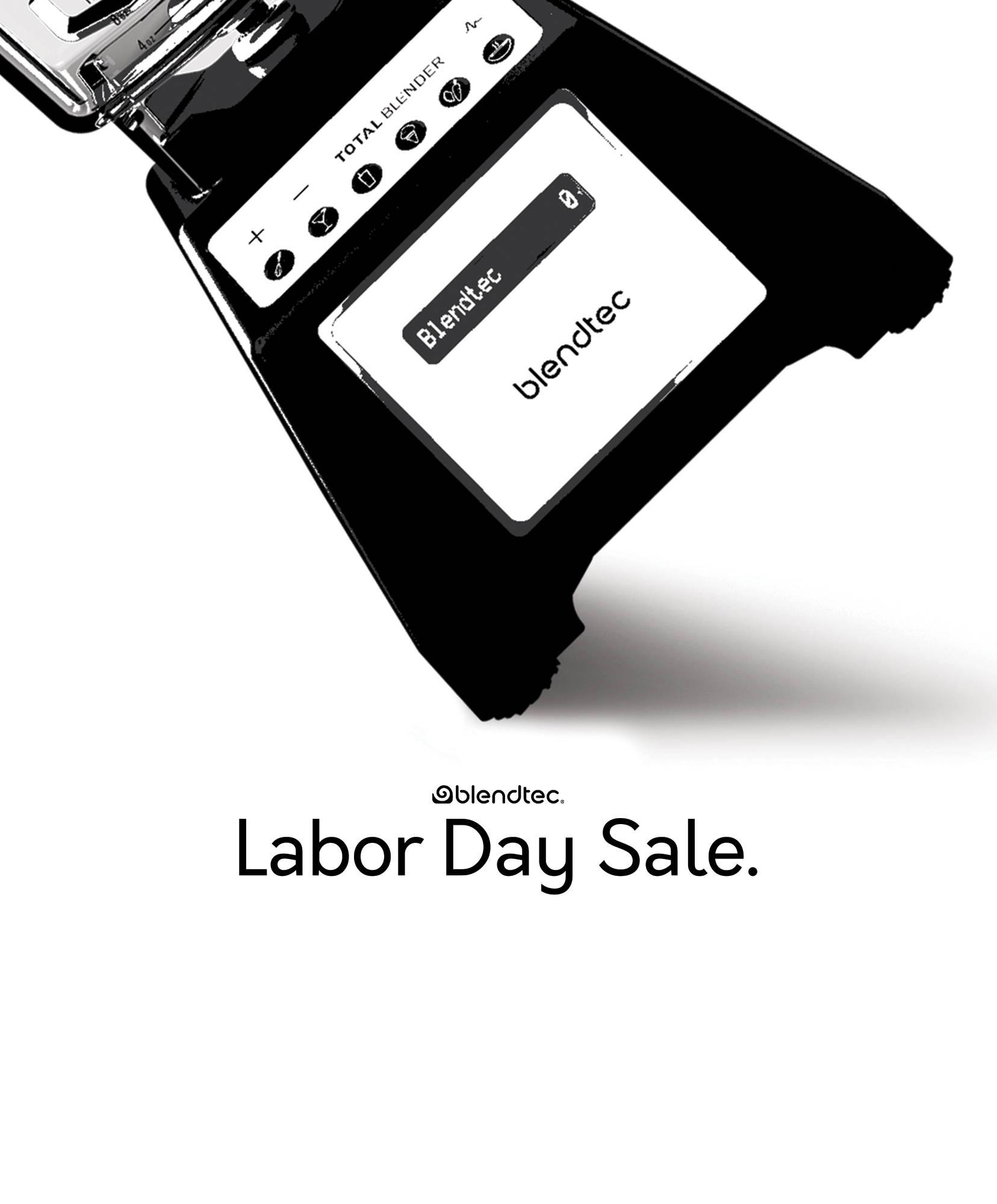 Total Blender Labor Day Sale