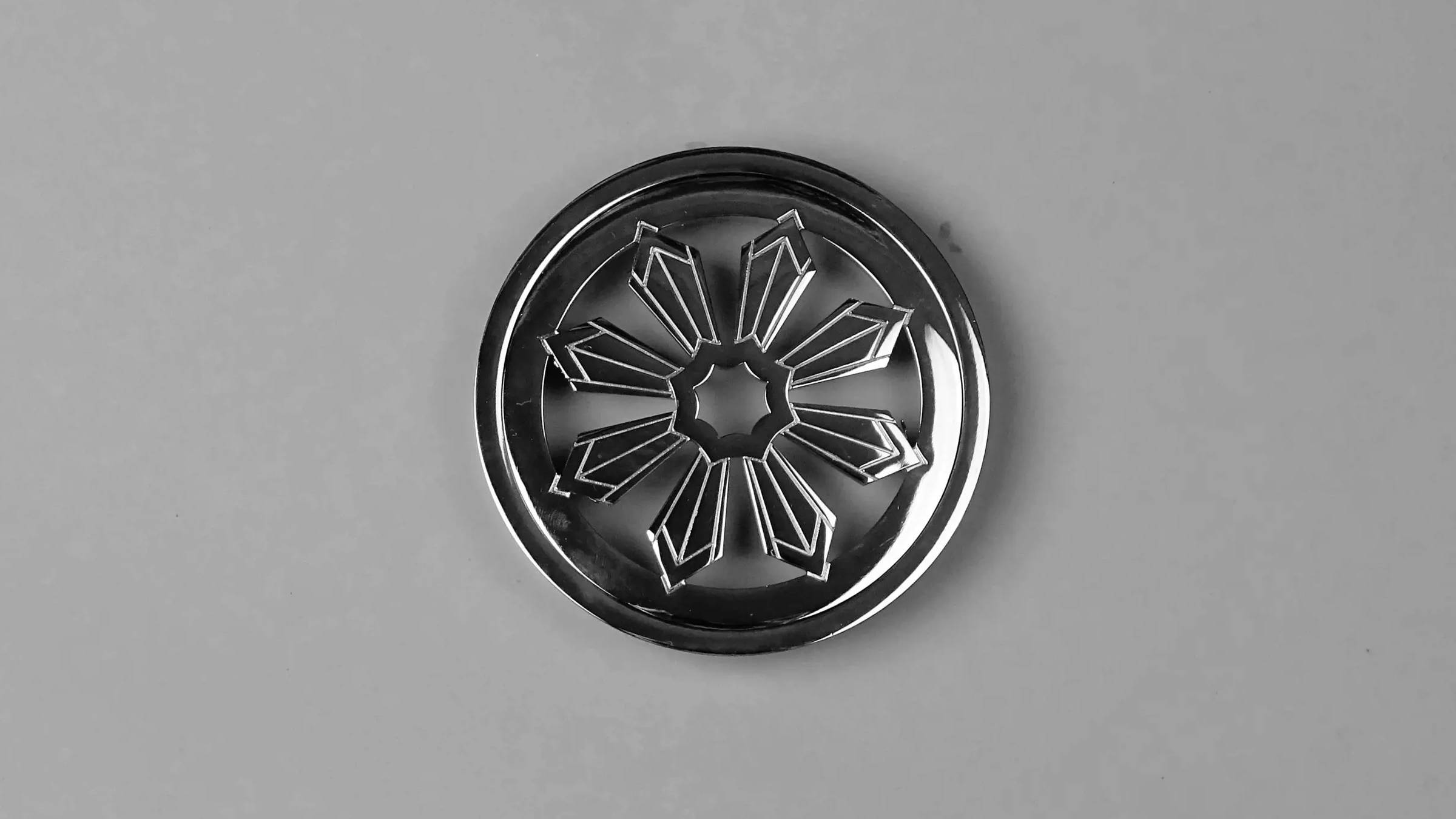 Federation Chrome Round Shower Drain Grate