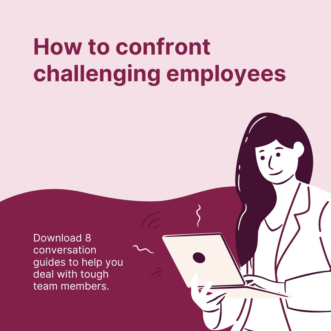 How to confront difficult employees