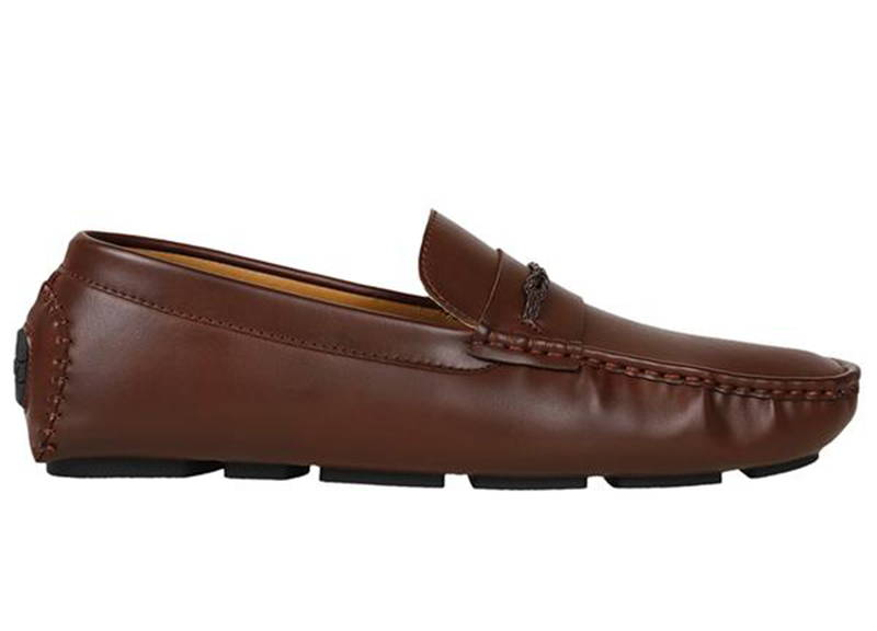 7622cb130a5 Tomaz C355 Front Braided Penny Loafers (Brown) - Tomaz Shoes