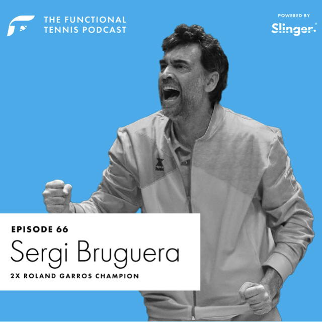 Sergi Bruguera on the Functional Tennis Podcast